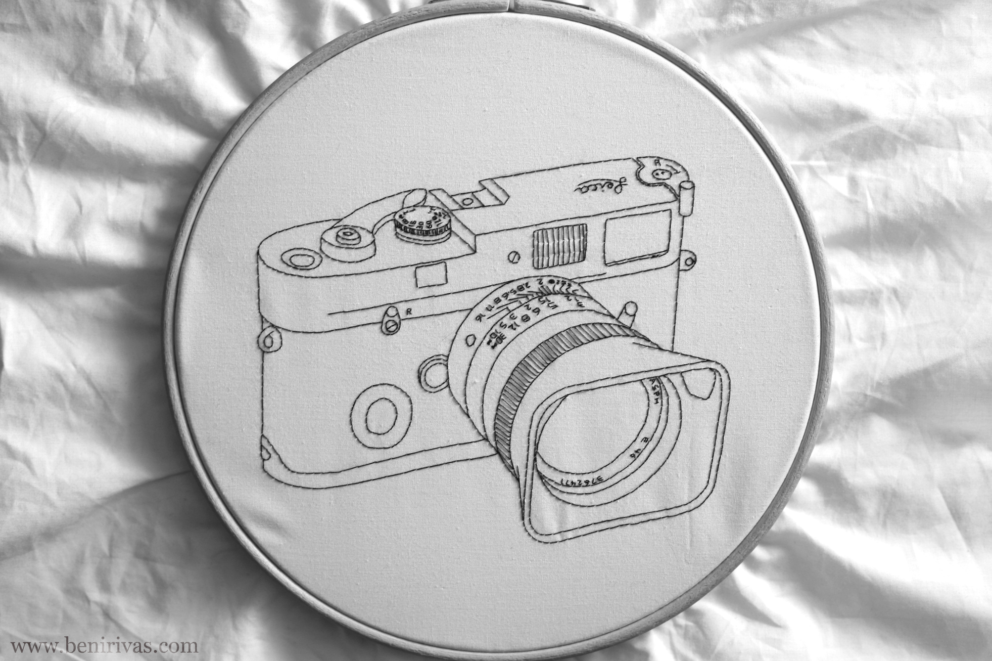 embroidery Leica MP